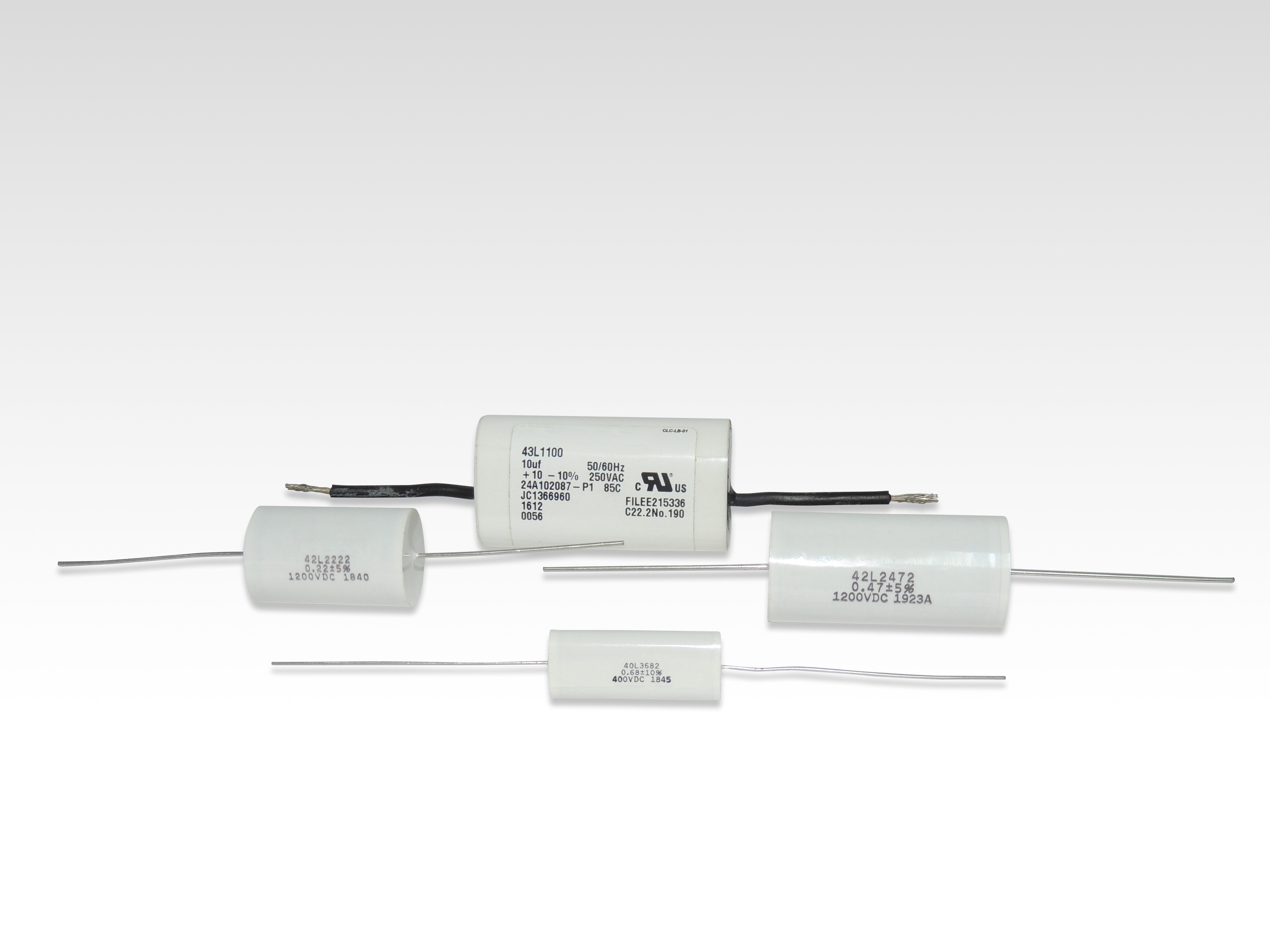 Dry Axial Leaded Capacitors